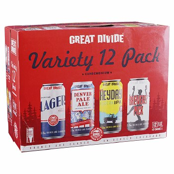 Great Divide Candemonium Variety 12pk 12oz Cans