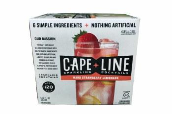 Cape Line Hard Strawberry Lemonade 6pk 12oz Cans