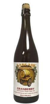 Cascade Cranberry Northwest Style Sour Ale 9.4oz Bottle