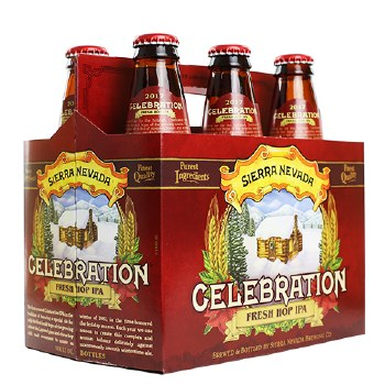 Sierra Nevada Celebration Fresh Hop IPA 6pk 12oz Bottles