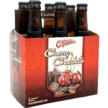 OFallon Cherry Chocolate Beer 6pk 12oz Bottles
