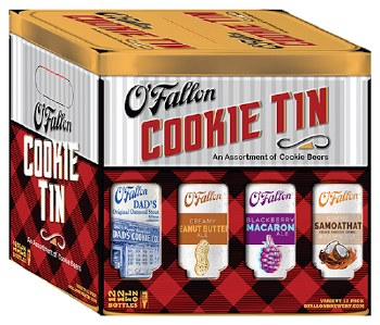 OFallon Cookie Tin Variety 12pk 12oz Bottles