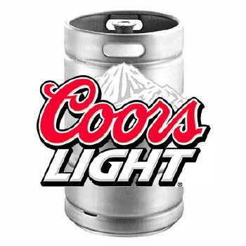Coors Light 1/4 Keg