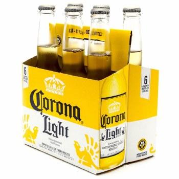 Corona Light 6pk 12oz Bottles
