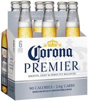 Corona Premier 6pk 12oz Bottles