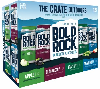 Bold Rock The Crate Outdoors Hard Cider Variety 12pk 12oz Cans