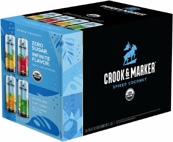 Crook and Marker Spiked Coconut Variety 8pk 11.5oz Cans