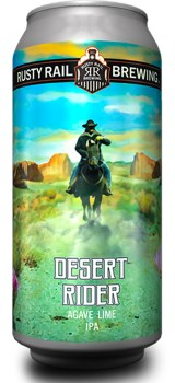 Rusty Rail Desert Rider Agave Lime IPA 4pk 16oz Cans
