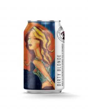 Atwater Dirty Blonde Wheat Ale With Orange Peel & Coriander 12pk 12oz Cans