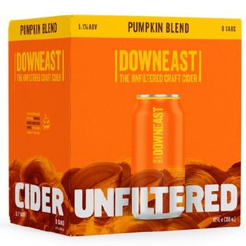 Downeast Pumpkin Blend Unfiltered Craft Cider 9pk 12oz Cans