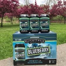 Ellicottville Blueberry Wheat Ale 12pk 12oz Cans