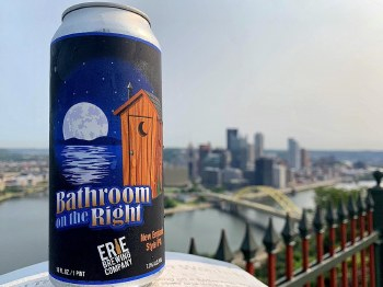 Erie Brewing Bathroom on the Right New England Style IPA 4pk 16oz Cans