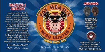 Fat Heads Head Hunter 12pk 12oz Cans