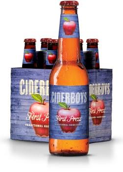Ciderboys First Press Traditional Apple Hard Cider 6pk 12oz Bottles