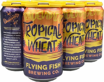 Flying Fish Tradewinds Tropical Wheat 6pk 12oz Cans