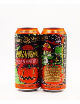 Flying Monkey Paranormal Imperial Pumpkin Ale 4pk 16oz Cans