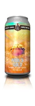 Rusty Rail Fools Gold Imperial Peanut Butter Hefeweizen 16oz Can