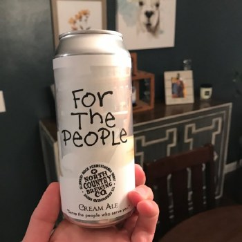 North Country For The People Cream Ale 6pk 12oz Cans