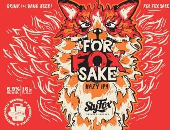 Sly Fox For Fox Sake Hazy IPA 4pk 16oz Cans