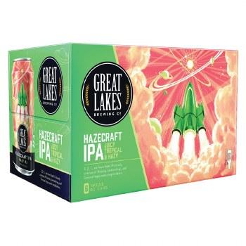 Great Lakes Hazecraft Juicy & Tropical Hazy IPA 6pk 12oz Cans