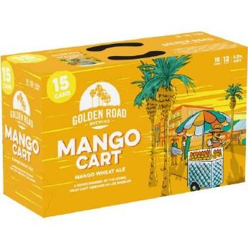 Golden Road Mango Cart Wheat Ale 15pk 12oz Cans