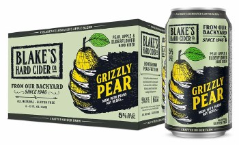 Blakes Grizzly Pear Hard Cider 6pk 12oz Cans