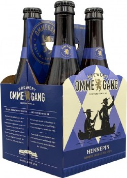 OmmeGang Hennepin Farmhouse Saison Ale 4pk 12oz Bottles