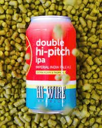 Hi Wire Double Hi-Pitch IPA Imperial IPA 6pk 12oz Cans