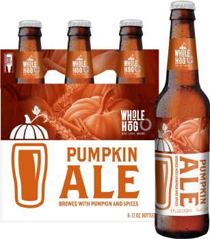 Whole Hog Pumpkin Ale 6pk 12oz Bottles