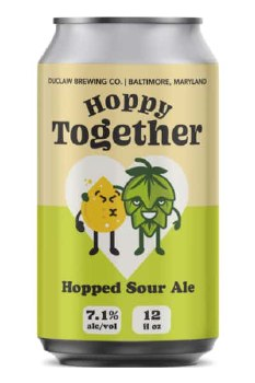 Duclaw Hoppy Together Hopped Sour Ale 12oz Can