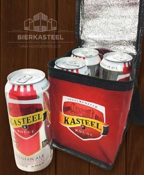 Kasteel Rouge 4pk 16oz Can Cooler Bag