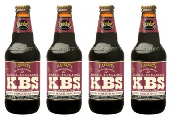 Founders KBS Maple Mackinac Fudge Stout 4pk 12oz Bottles
