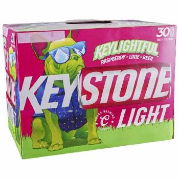 Keystone Light Keylightful 30pk 12oz Cans