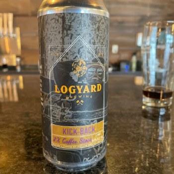 Logyard Kick Back 2X Coffee Stout 4pk 16oz Cans