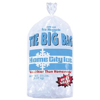 Large 22lb Bag of Ice