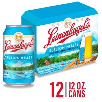 Leinenkugels Session Helles Light Bodied German Style Lager 12pk 12oz Cans