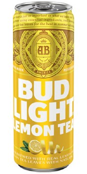 Bud Light Lemon Tea 25oz Can
