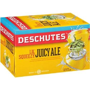 Deschutes Lil Squeezy Juicy Ale 6pk 12oz Cans