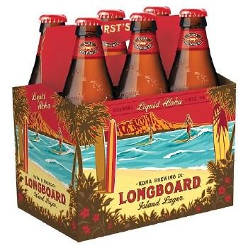Kona Longboard Island Lager 6pk 12oz Bottles
