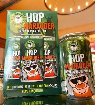Fat Heads Hop Marauder Imperial IPA 6pk 12oz Cans
