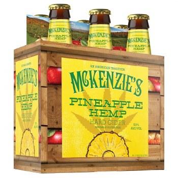 McKenzie's Pineapple Hemp Gluten-Free Hard Cider 6pk 12oz Bottles