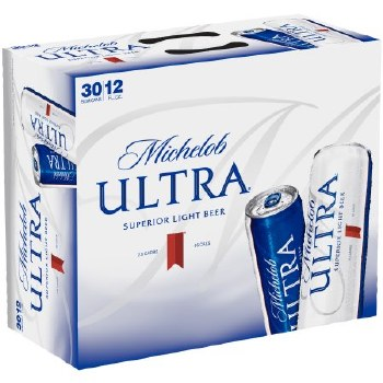 Michelob Ultra 30pk 12oz Cans
