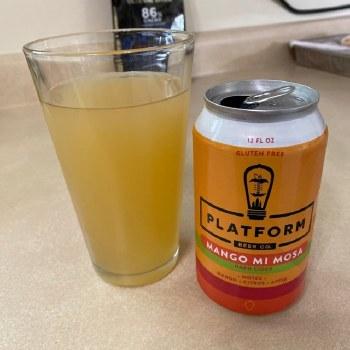 Platform Mango Mi Mosa Hard Cider 12oz Can