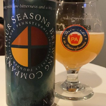Four Seasons Nebulous New England Style IPA with Mangos 4pk 16oz Cans