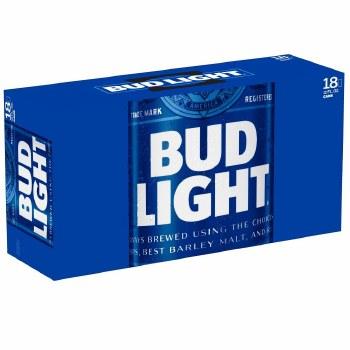 Bud Light 18pk 12oz Cans