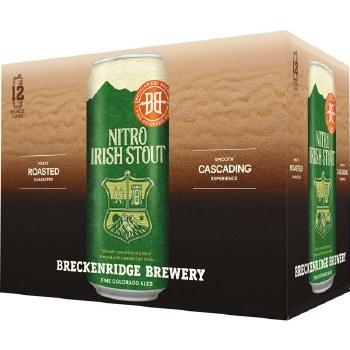 Breckenridge Nitro Irish Stout 12pk 13.6oz Cans