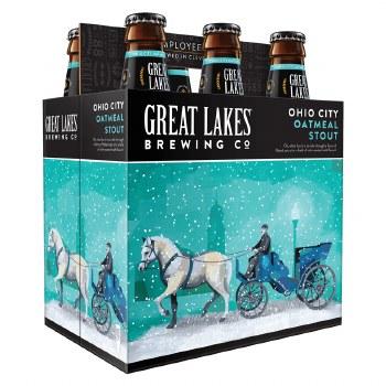 Great Lakes Lakes Ohio City Oatmeal Stout 6pk 12oz Bottles