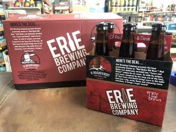 Erie Ol' Red Cease & Desist Wee Heavy Ale 6pk 12oz Bottles