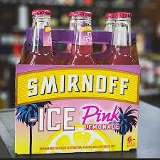 Smirnoff Ice Pink Lemonade 6pk 11.2oz Bottles