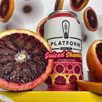 Platform Juiced Shandy 6pk 12oz Cans